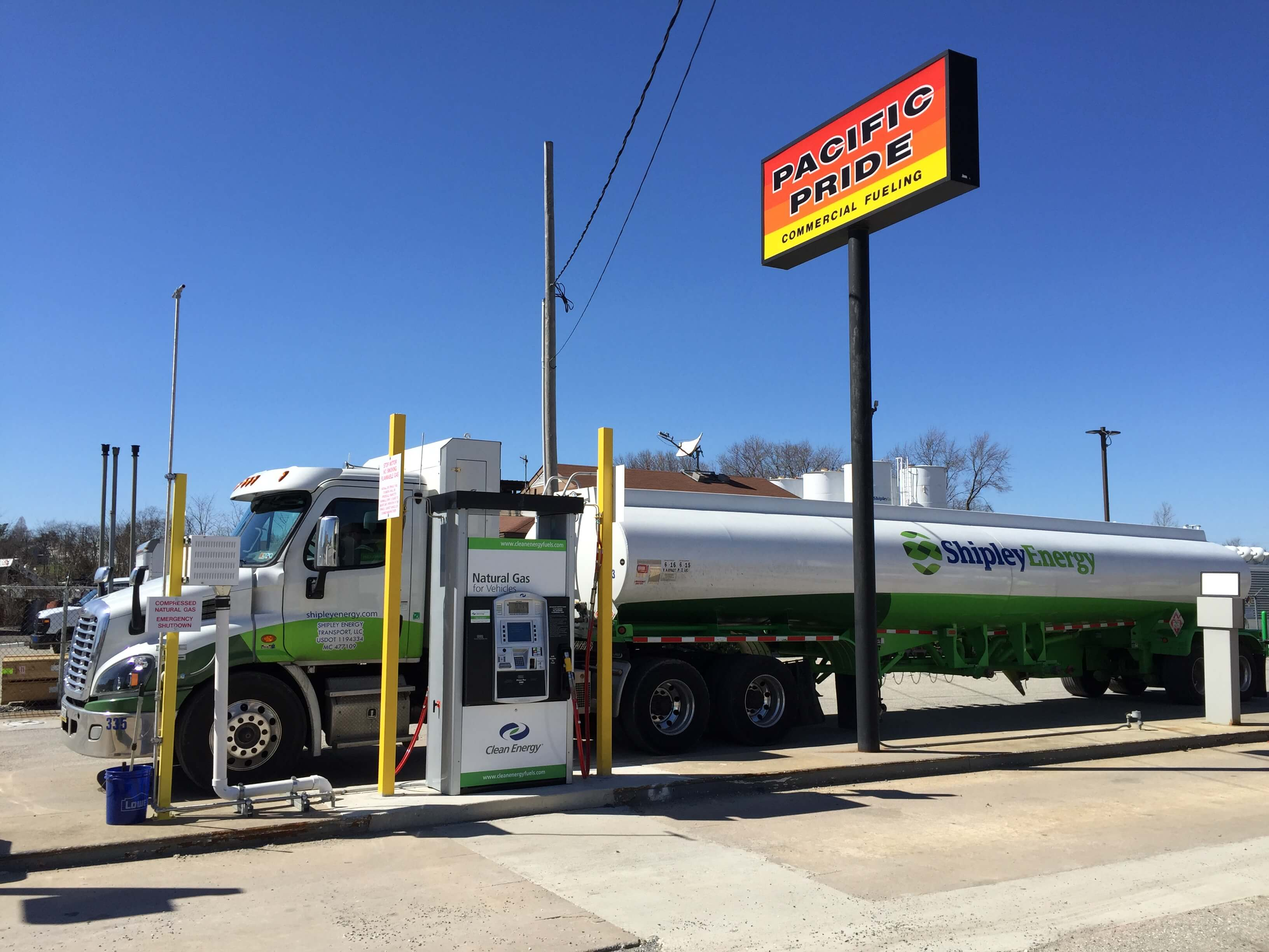 Clean Energy Compressed Natural Gas Stations