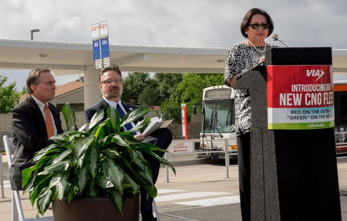 VIA Metropolitan Transit Begins CNG Bus Fleet Conversion