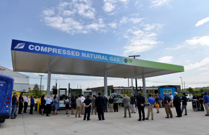 Airport Authority Opens Cng Fueling Station For Shuttle