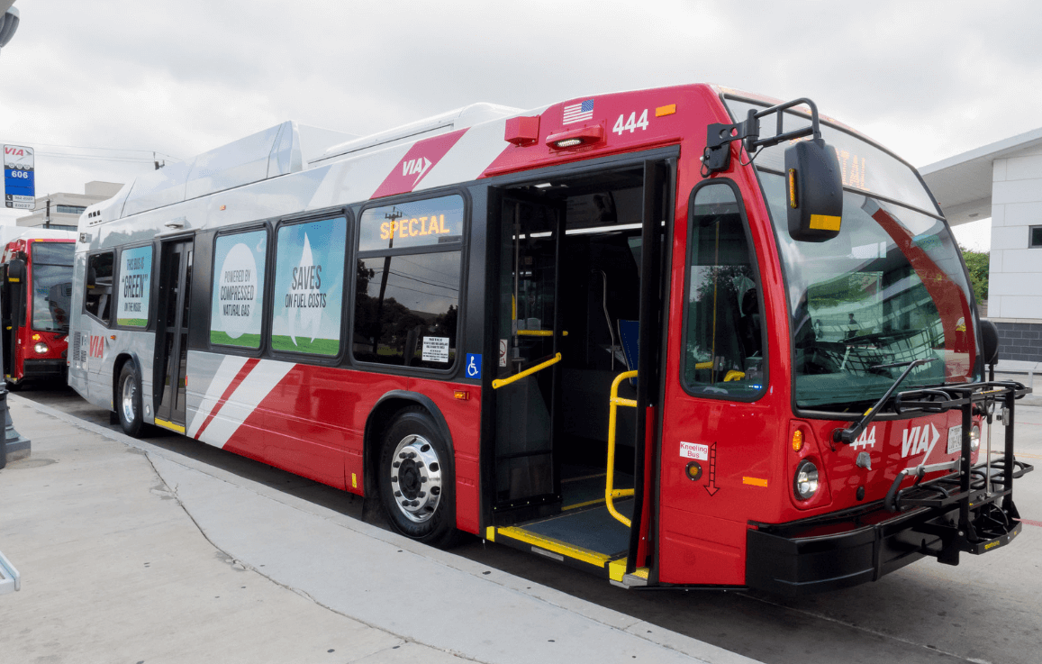 Via Metropolitan Transit Begins Cng Bus Fleet Conversion