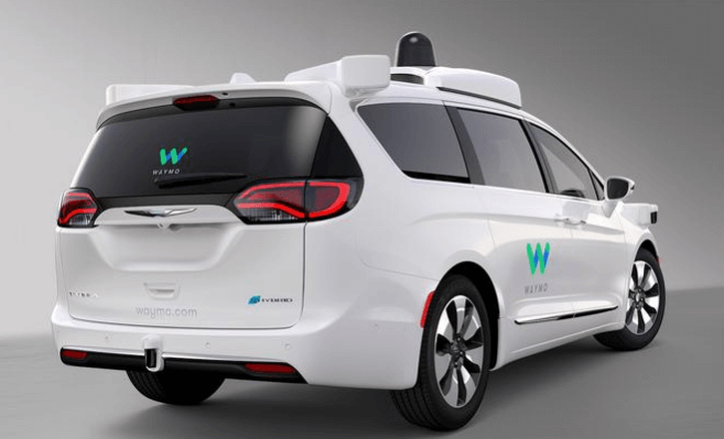 waymo-hybrid-van Waymo Expands Program with 500 More Chrysler Pacifica Hybrids