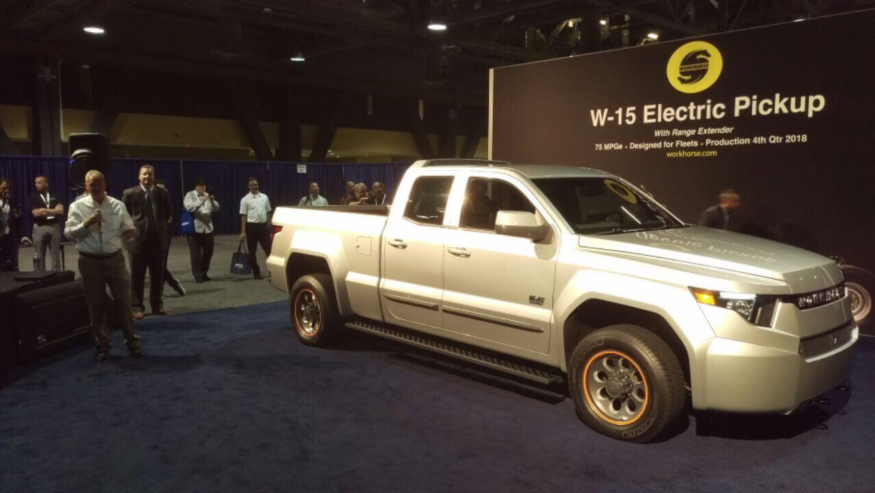 W-15 Electric Pickup Truck: A 'New Era in Fleet Vehicles