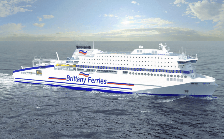 Brittany Ferries To Build Lng Powered Cruise Ship Ngt News