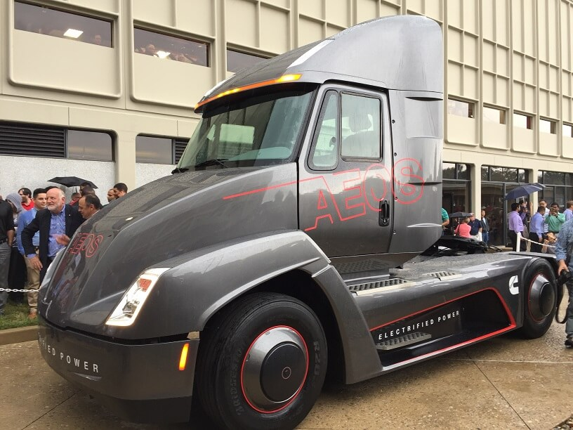Cummins beats Tesla to self driving semis
