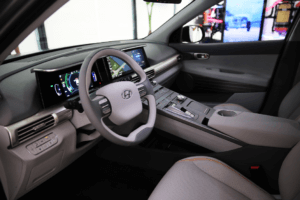 inside-hyundai-300x200 Hyundai Previews New Fuel Cell SUV, Outlines Eco-Vehicle Plan