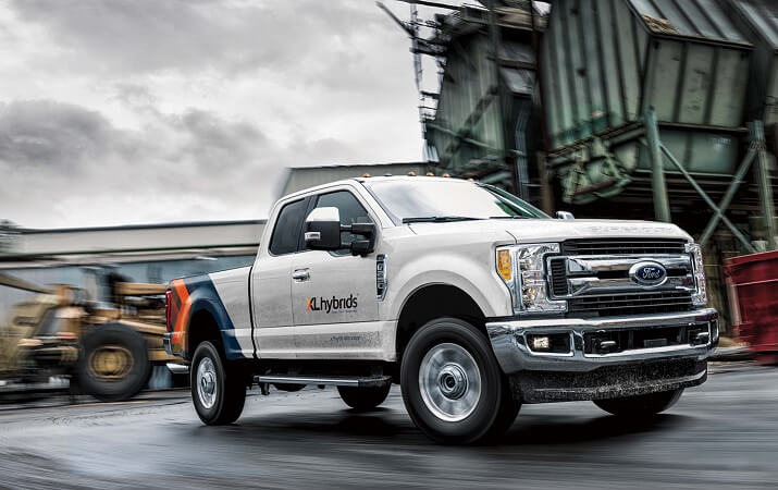 XL Hybrids Upfitting 2018 Ford F-250 Pickups for Fleets ...