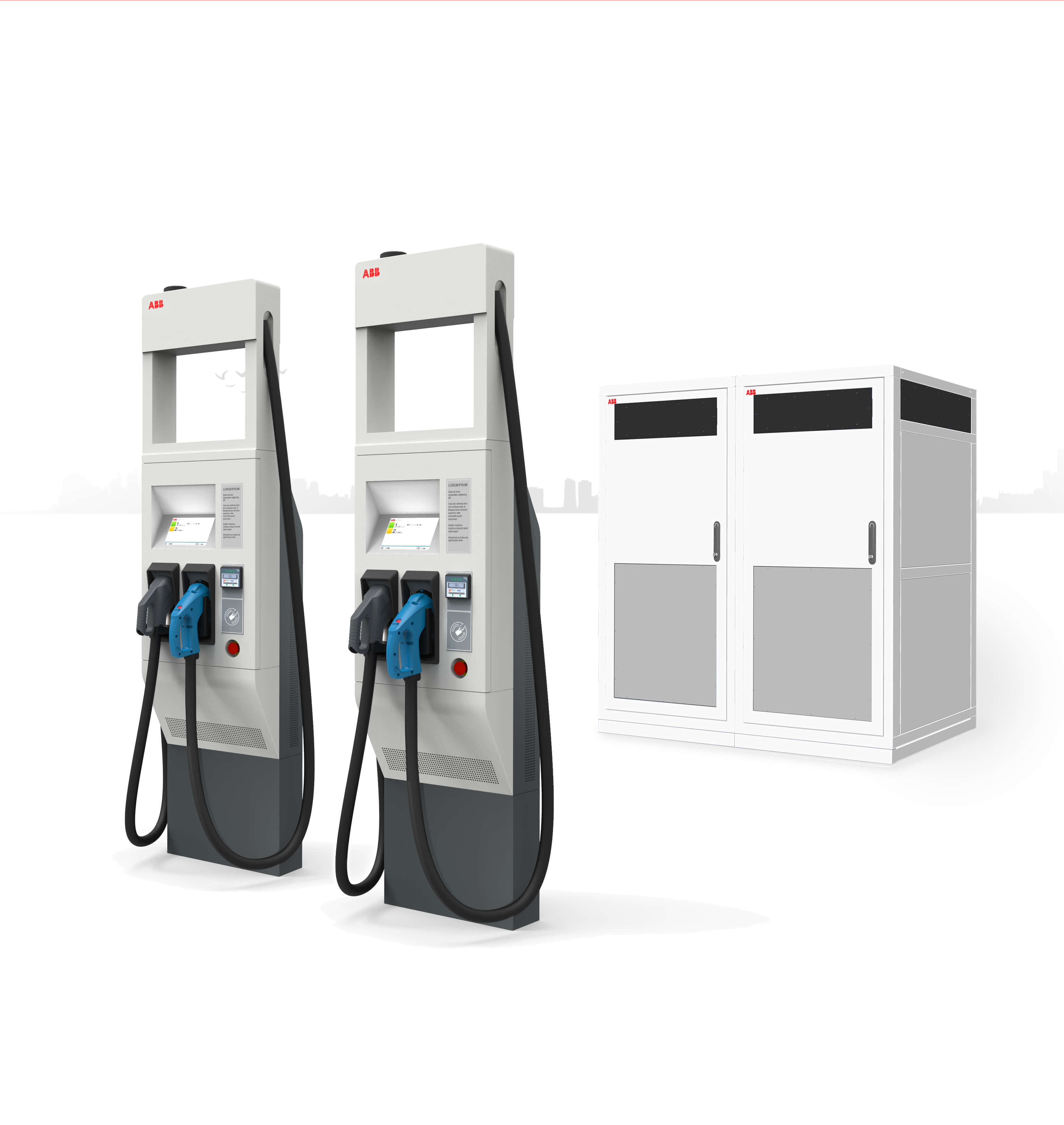 Abb Electric Car Charger