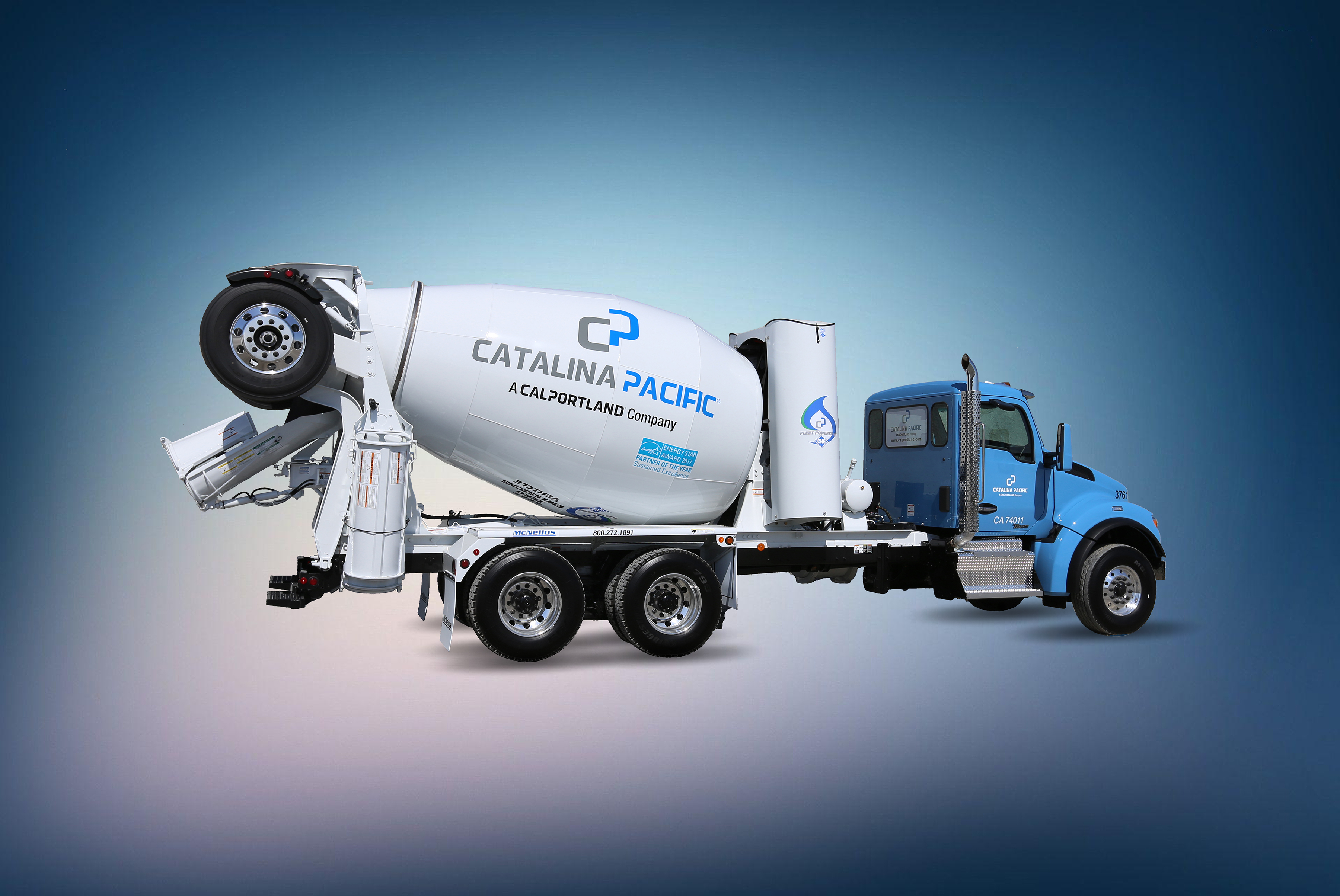 Large CNG-Powered Concrete Mixer Fleet Rolls Out in Southern