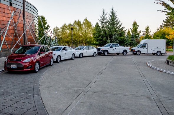City of Redmond Celebrates Growth of Alternative Fuel Fleet