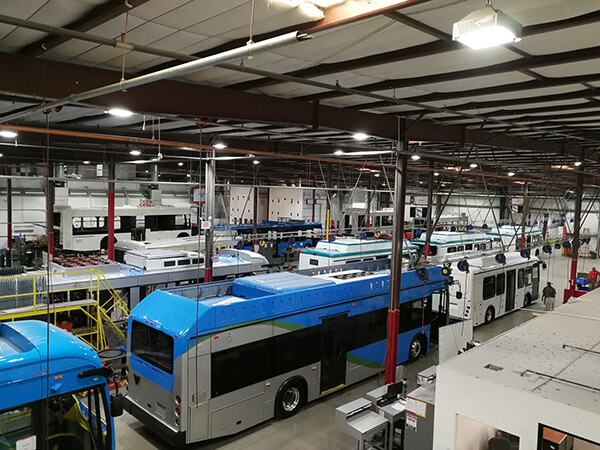 byd-factory BYD Cuts Ribbon on Expanded Electric Bus Factory in California