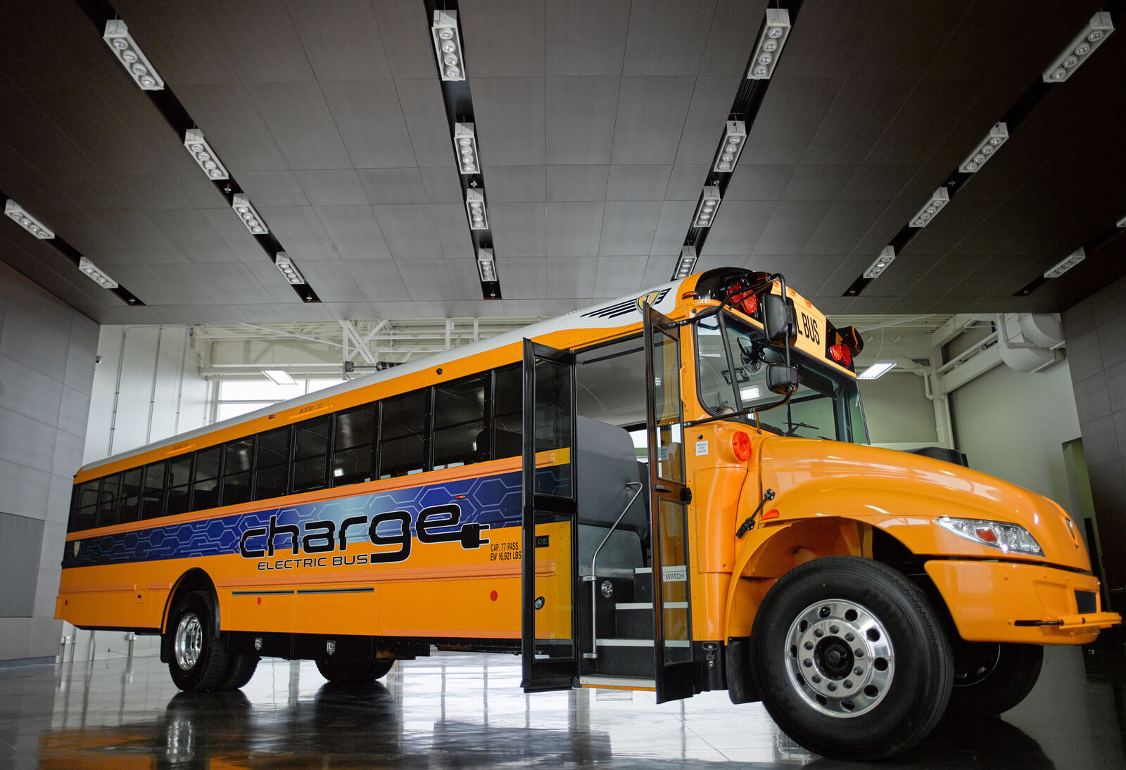IC Bus Reveals chargE Electric Concept School Bus - NGT News Concept School Bus
