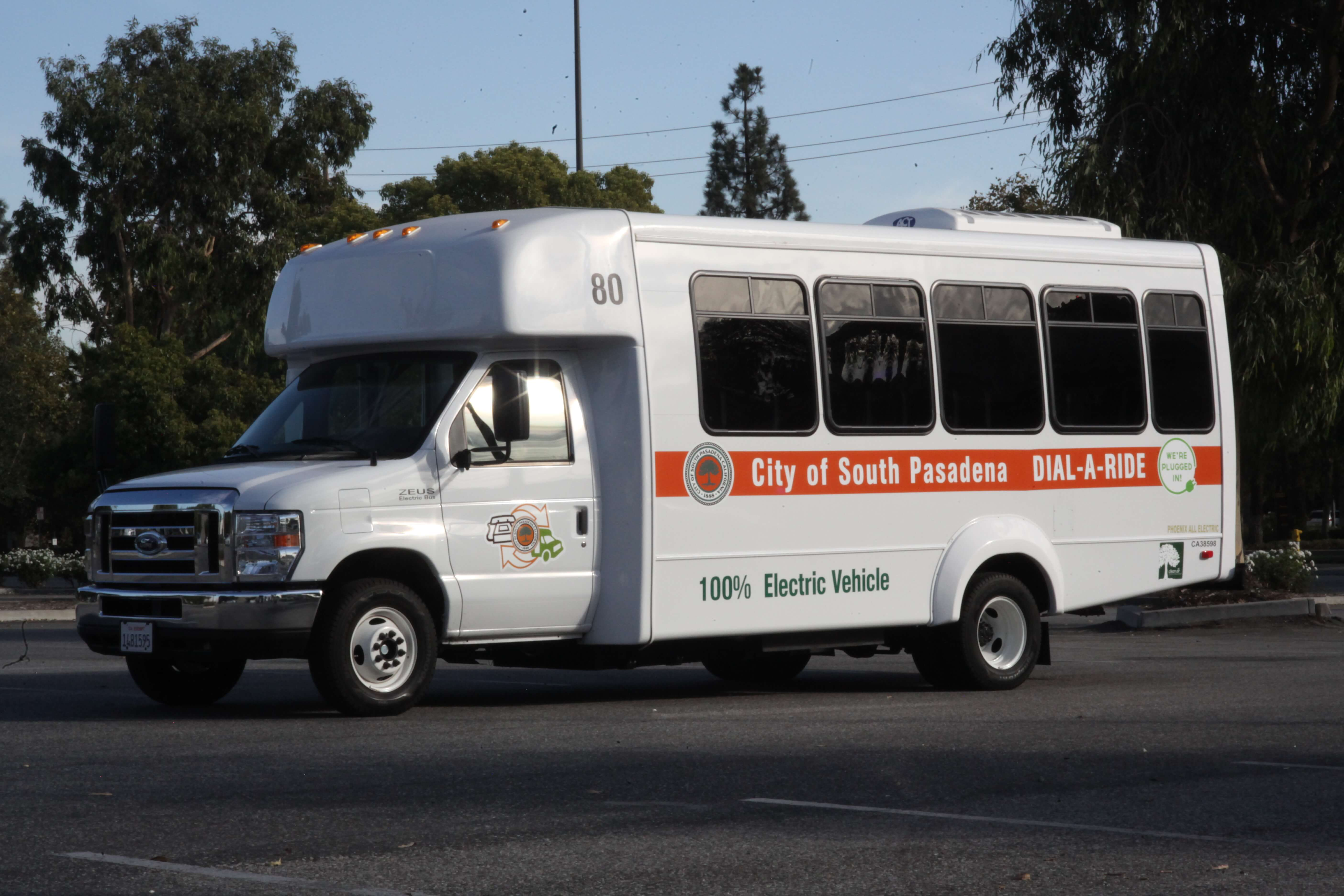 City Of South Pasadena Goes Electric With Shuttle Bus Ngt News
