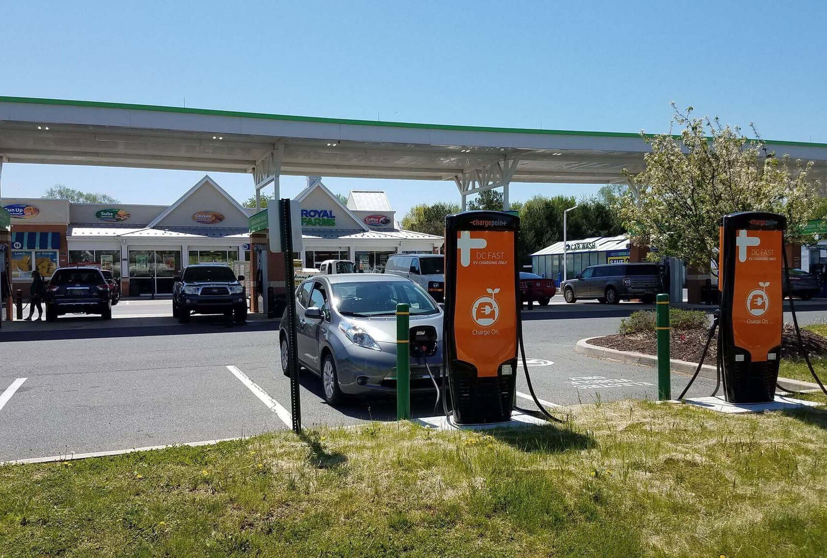 Convenience stores a missed opportunity for ev chargers for Royal motors sf service
