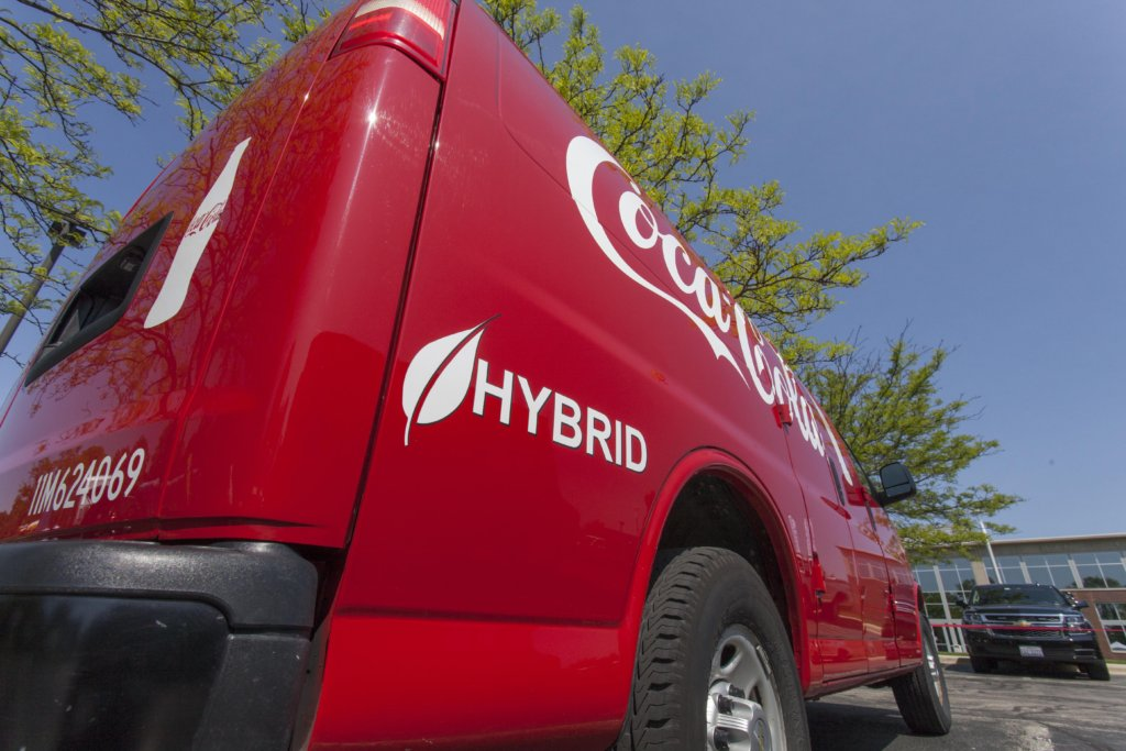 Chicago-area-Coca-Cola-hybrid-vehicle-2-MB-1024x683 Chicago Area Clean Cities Names Top Green Fleets of 2017