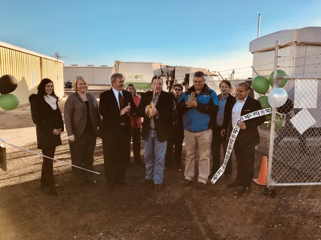 Sparq and Partners Cut Ribbon on City CNG Station