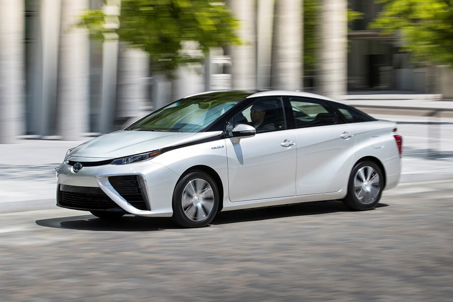 Toyota Has Announced That Mirai The Auto Company S Fuel Cell Electric Vehicles Often Seen Refueling At Hydrogen Stations In California Will Be Available
