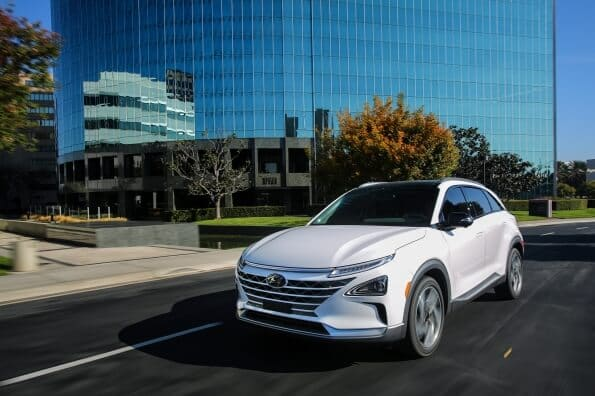 Hyundai NEXO fuel cell vehicle arriving in Oz in 2019