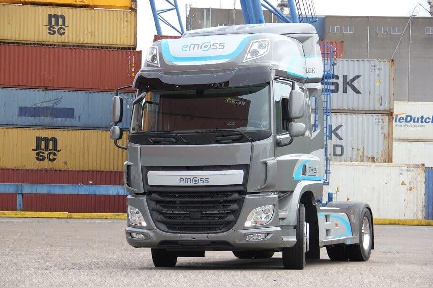 Semi Truck Transmissions : Dutch oem develops allison transmission equipped electric