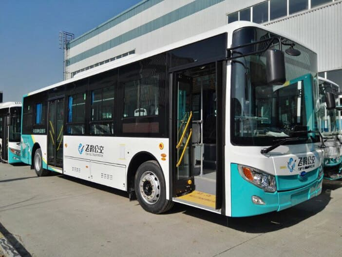 Metro Bus Cleaner : Edi delivers its largest electric bus order for china s