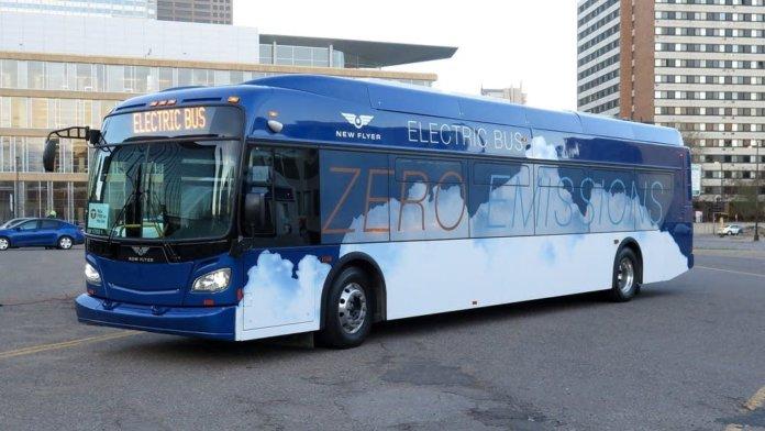 zero-emission bus