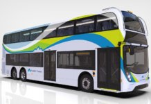 double-decker electric bus