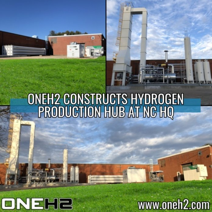 OneH2 Completes First Phase of N C  Hydrogen Production Hub
