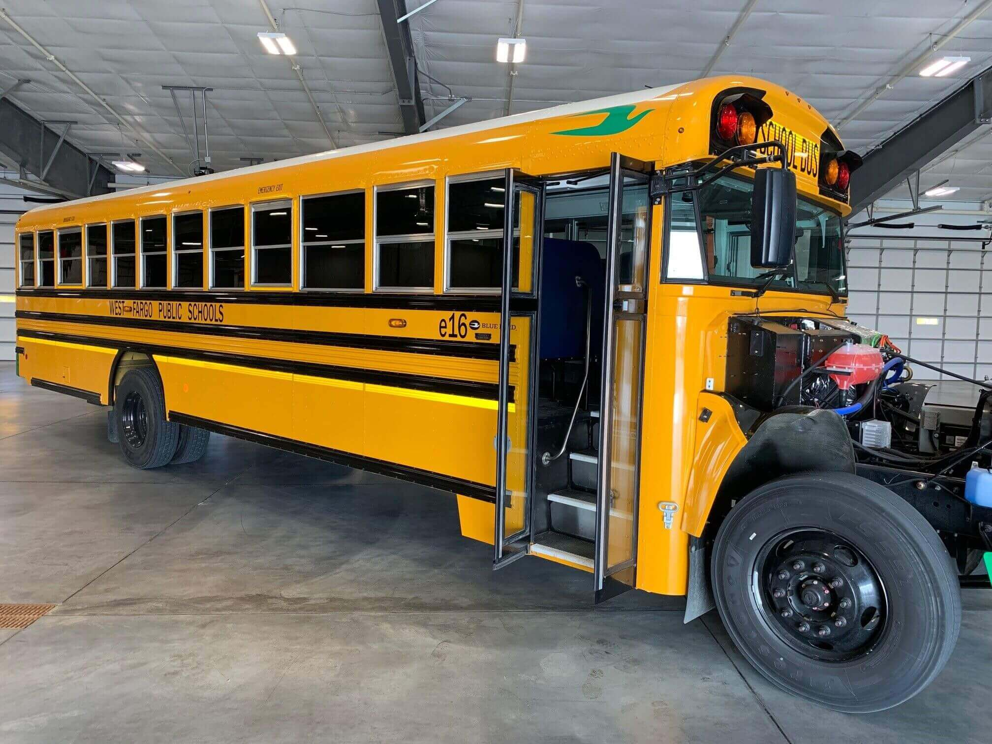 North Dakota School District Welcomes All Electric Bus Ngt News