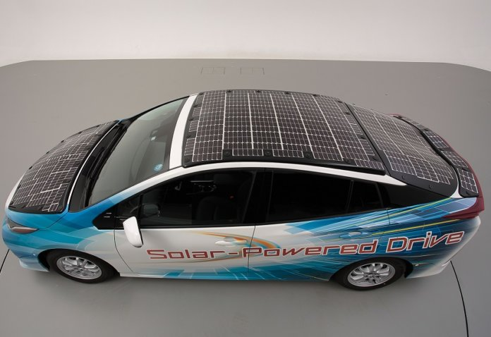 toyota solar vehicle